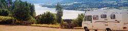 Camper Standplatz Aussicht Meer