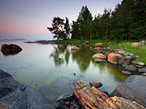Motorhome Ferien Finnland See