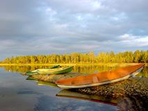 Finnland Wohnmobil Ferien See