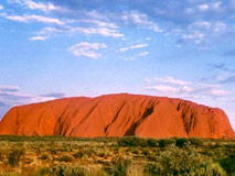 Australien Motorhome Ayers Rock