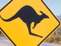 wohnmobil australien sign