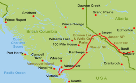 Vancouver Island Route