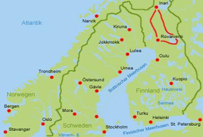 Lappland Wohnmobil mieten