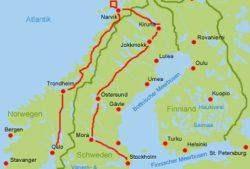 Nordschwegen Norwegen Wohnmobil Routen
