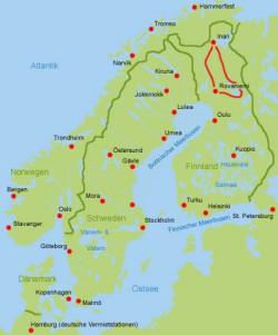 Motorhome Lappland Finnland