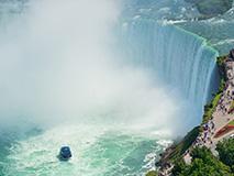Wohnmobil Route Niagarafälle Kanada