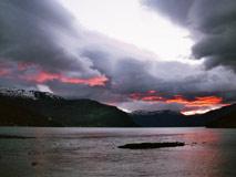 Motorhome Norwegen Sturm