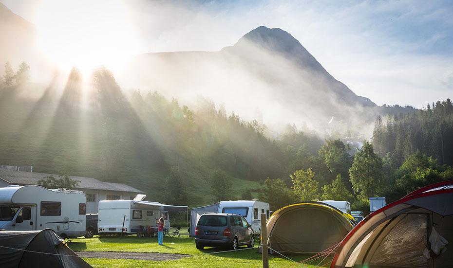 Camper in Norwegen mieten
