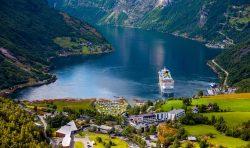 Campingplatz Norwegen Motorhome